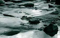 Fluß im Wandel der Zeit